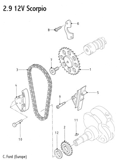Ford 4 6 Timing Chain Diagram